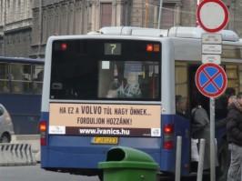 Buszreklám nemcsak Volvo-soknak
