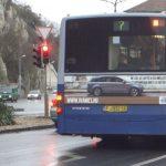 Volvo reklám Volvo buszon
